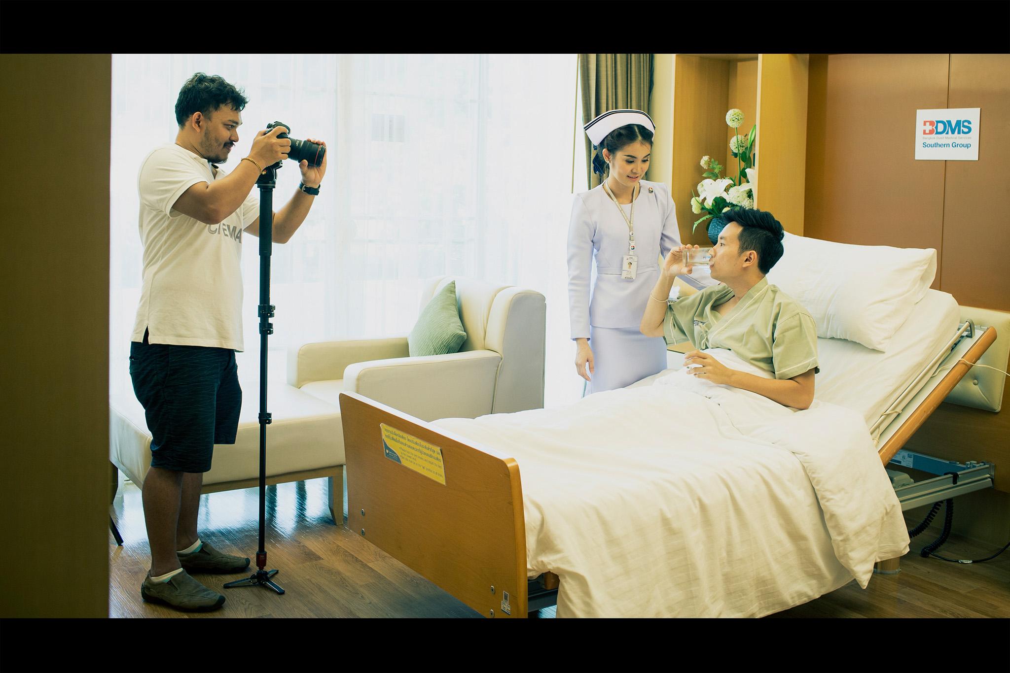 เบื้องหลังการถ่ายทำ Nurse Kultida Suriya